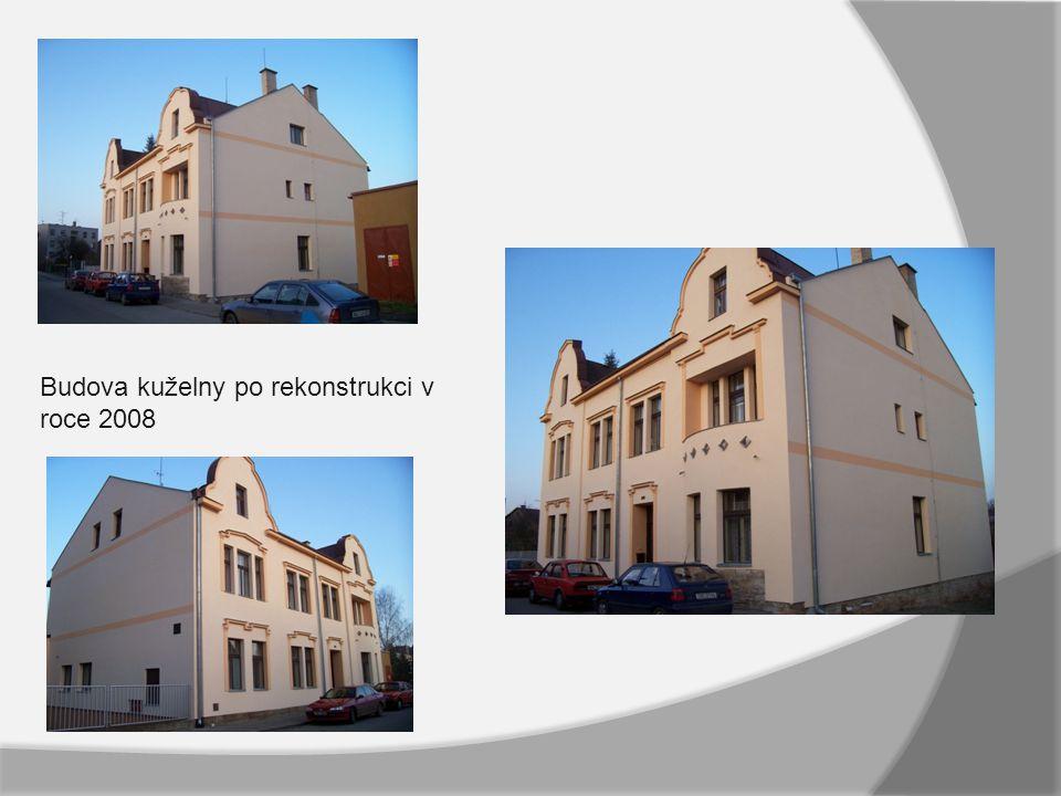 Budova kuželny po rekonstrukci v roce 2008