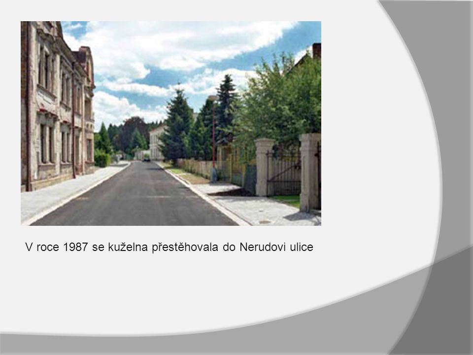 V roce 1987 se kuželna přestěhovala do Nerudovi ulice