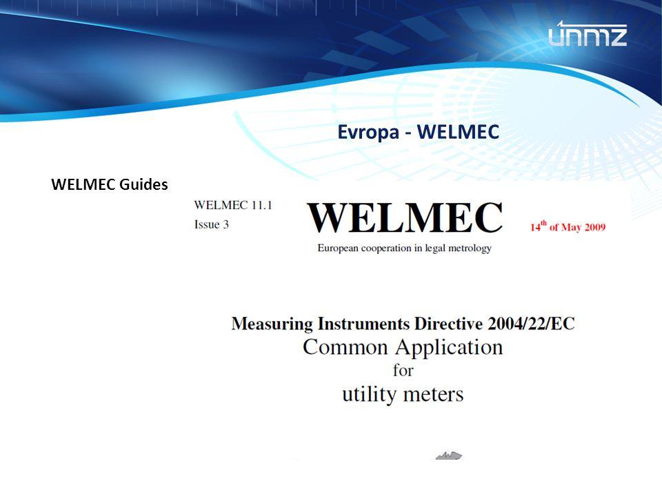 Evropa - WELMEC WELMEC Guides
