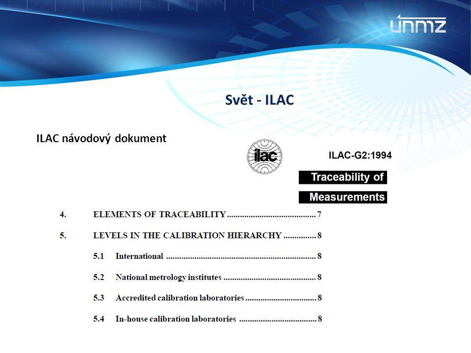 Svět - ILAC ILAC návodový dokument