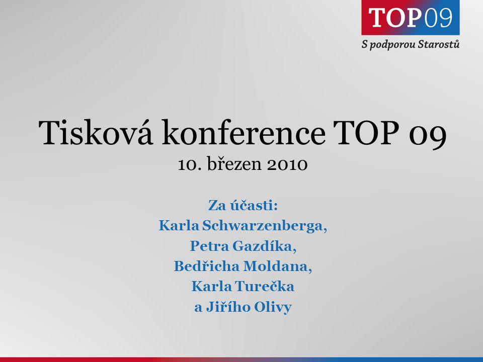 1 Tisková konference TOP 09 10.