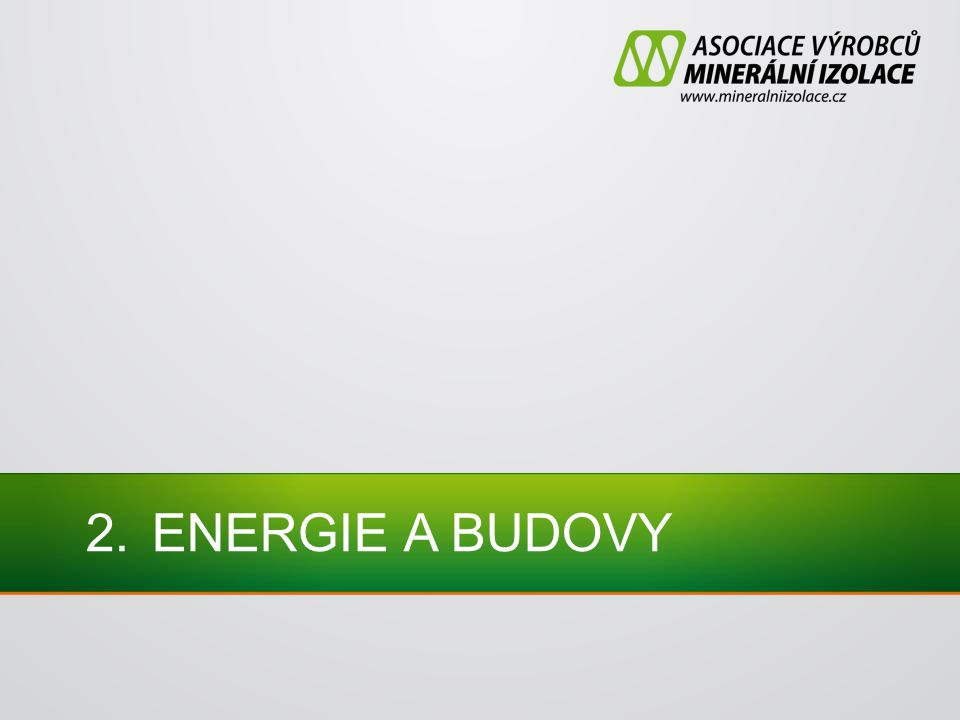 2.ENERGIE A BUDOVY