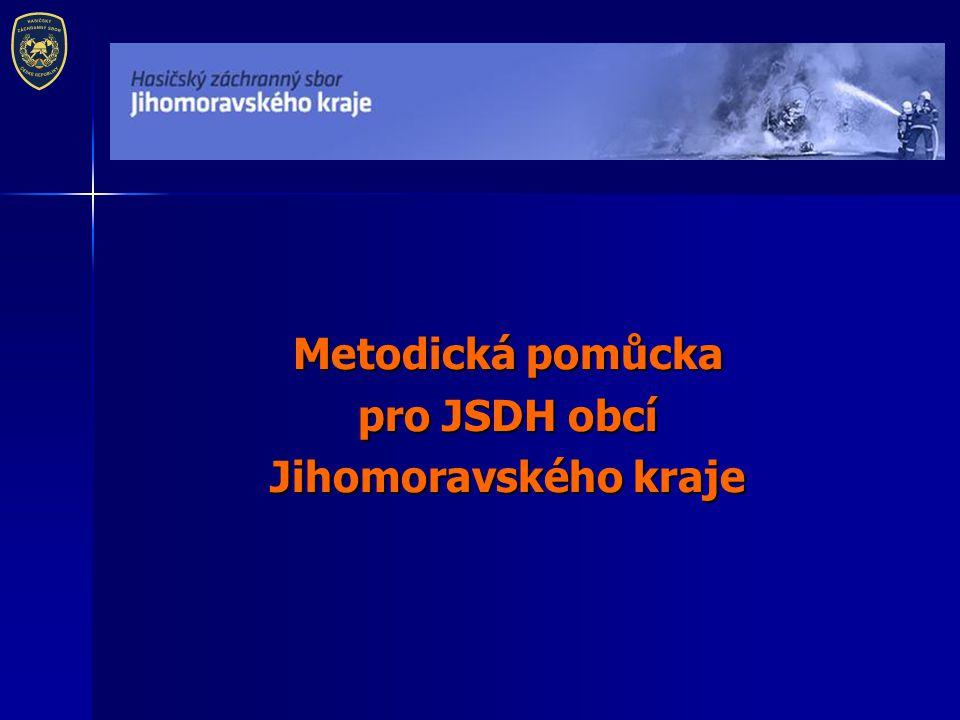 Metodická pomůcka pro JSDH obcí Jihomoravského kraje