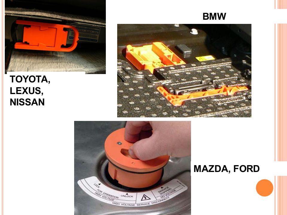 TOYOTA, LEXUS, NISSAN BMW MAZDA, FORD