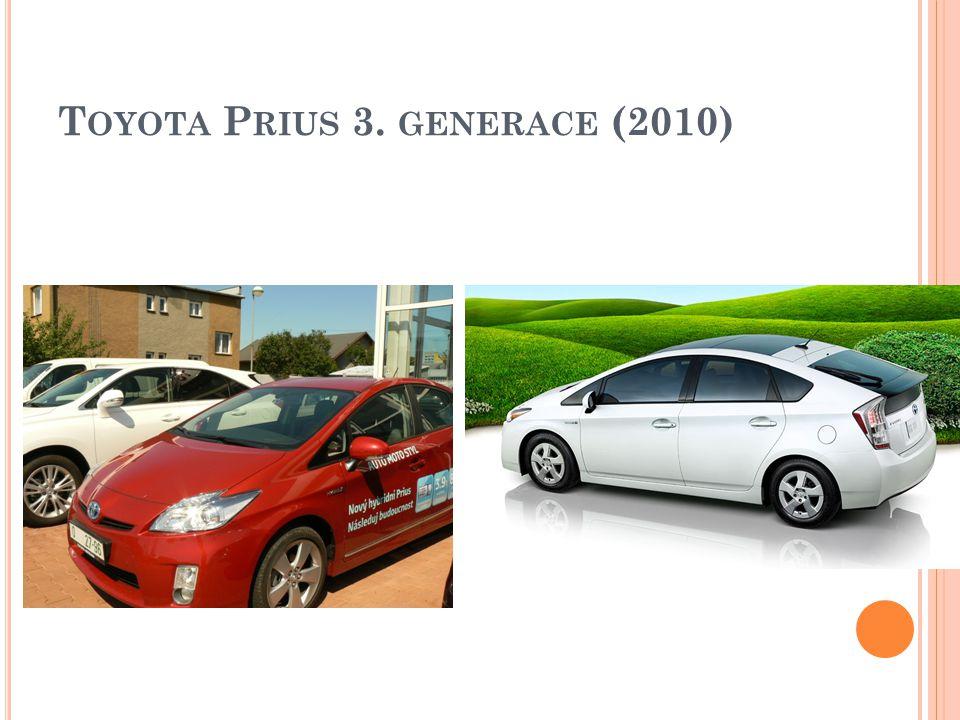 T OYOTA P RIUS 3. GENERACE (2010)