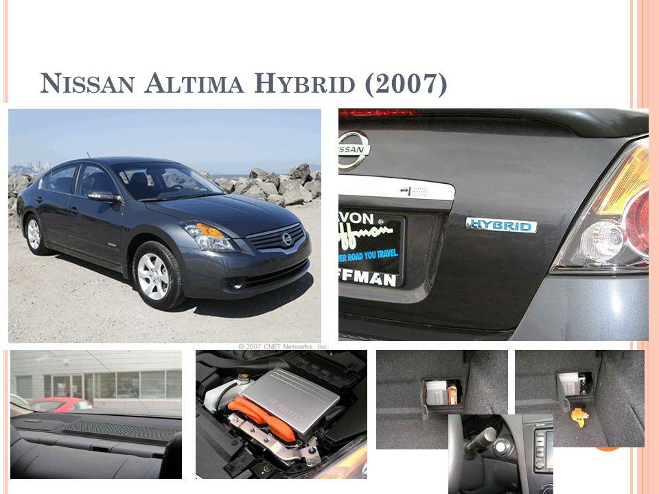 N ISSAN A LTIMA H YBRID (2007)