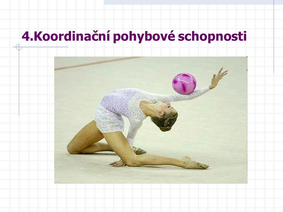 4.Koordinační pohybové schopnosti