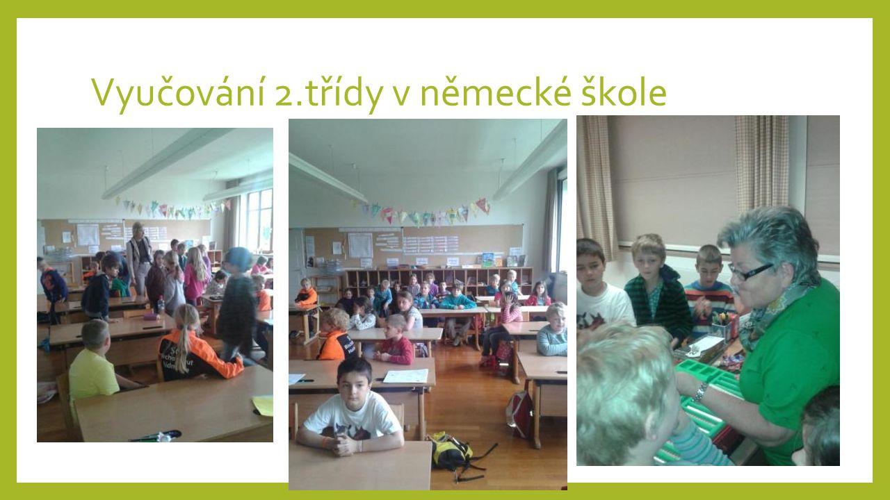 Vyučování 2.třídy v německé škole
