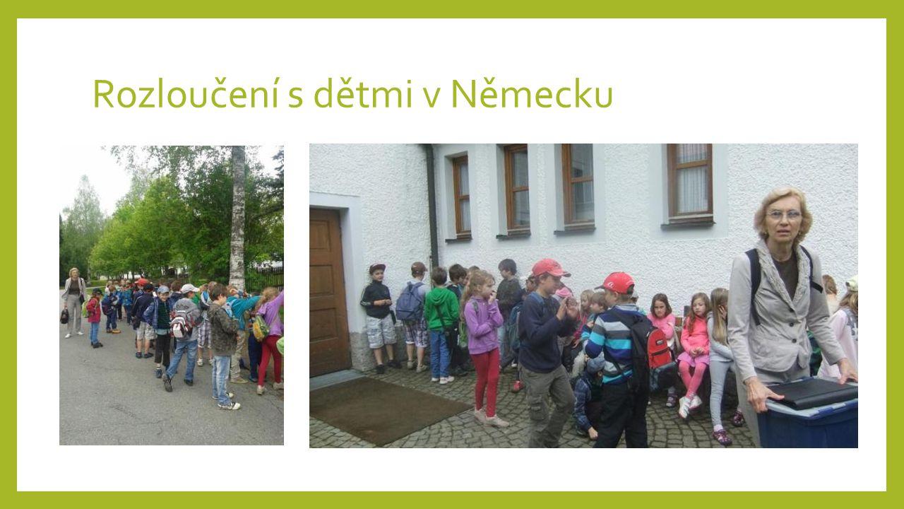 Rozloučení s dětmi v Německu
