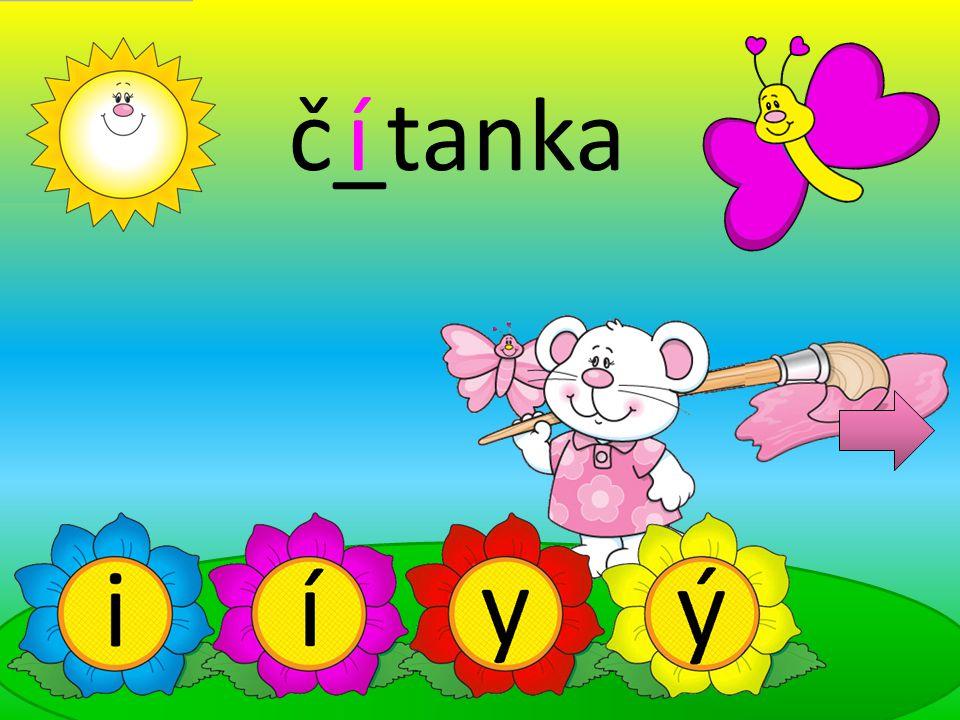 č_tankaí