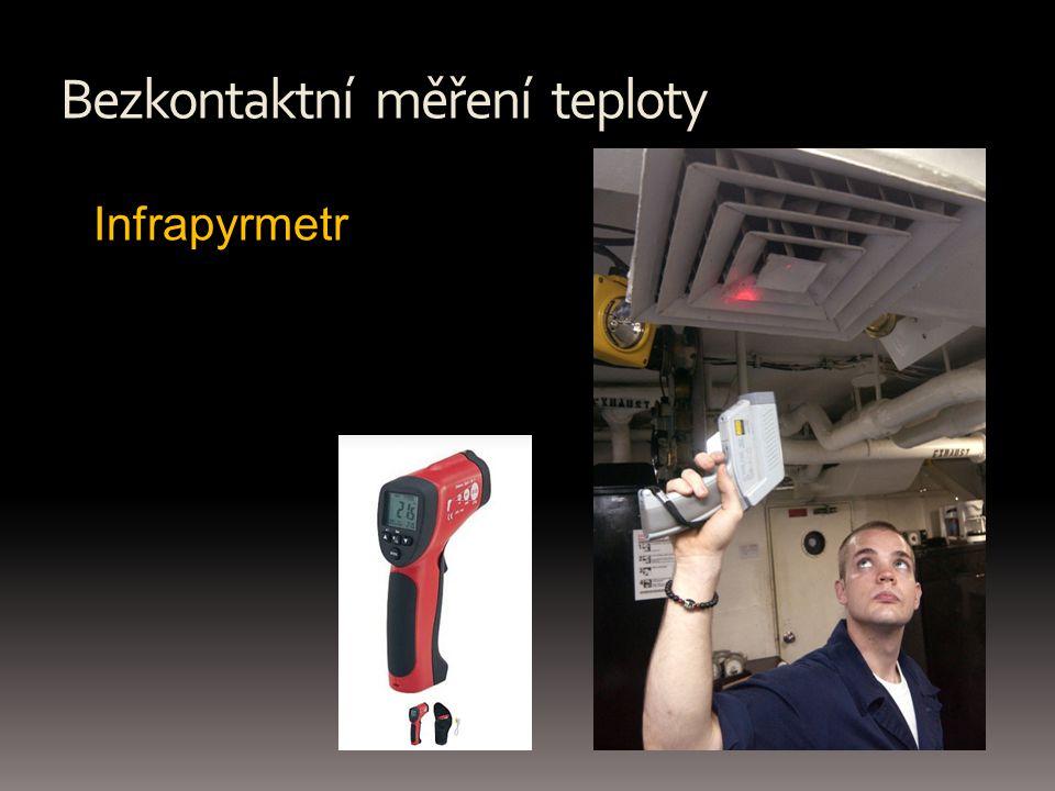 Bezkontaktní měření teploty Infrapyrmetr