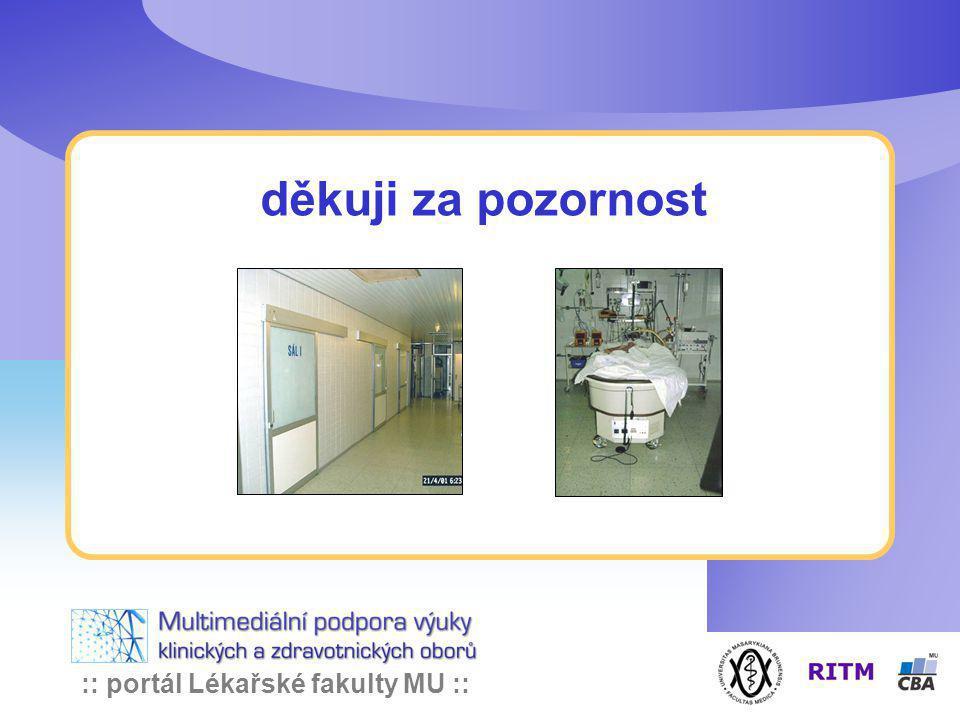:: portál Lékařské fakulty MU :: děkuji za pozornost