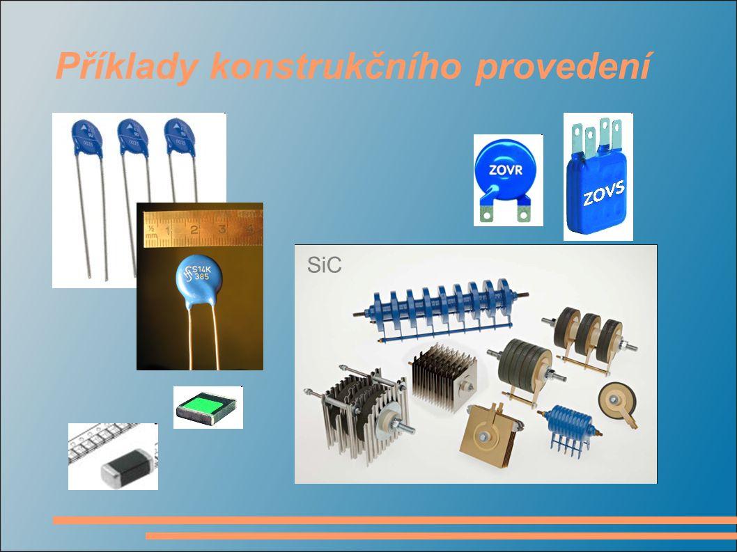 Příklady konstrukčního provedení SiC