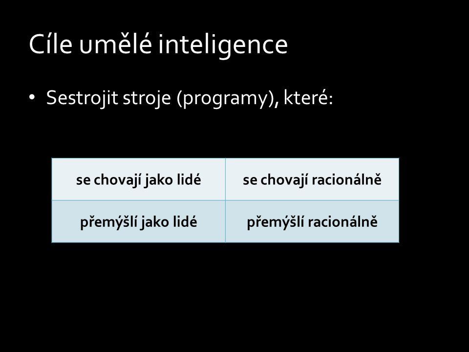 Umělá inteligence? Filosofická definice Technická definice