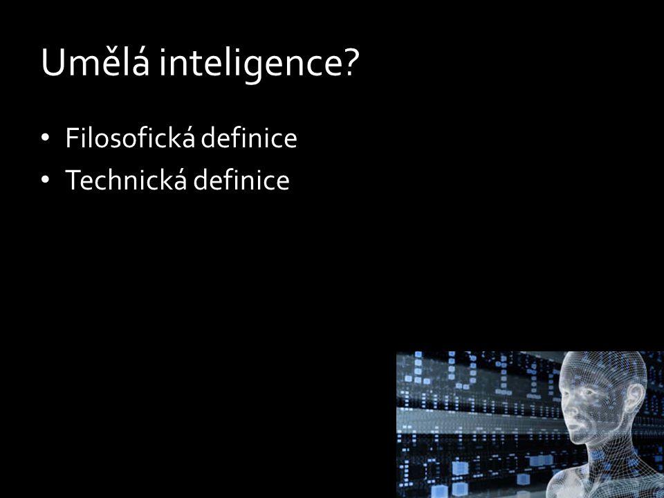Umělá inteligence.
