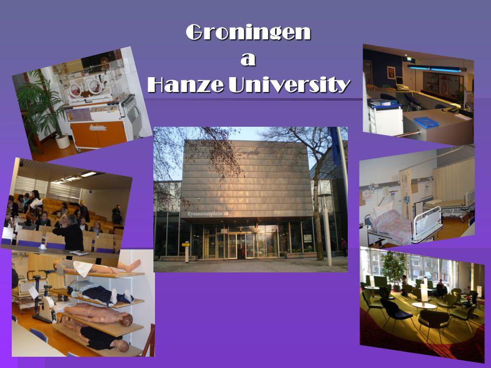 Groningen a Hanze University