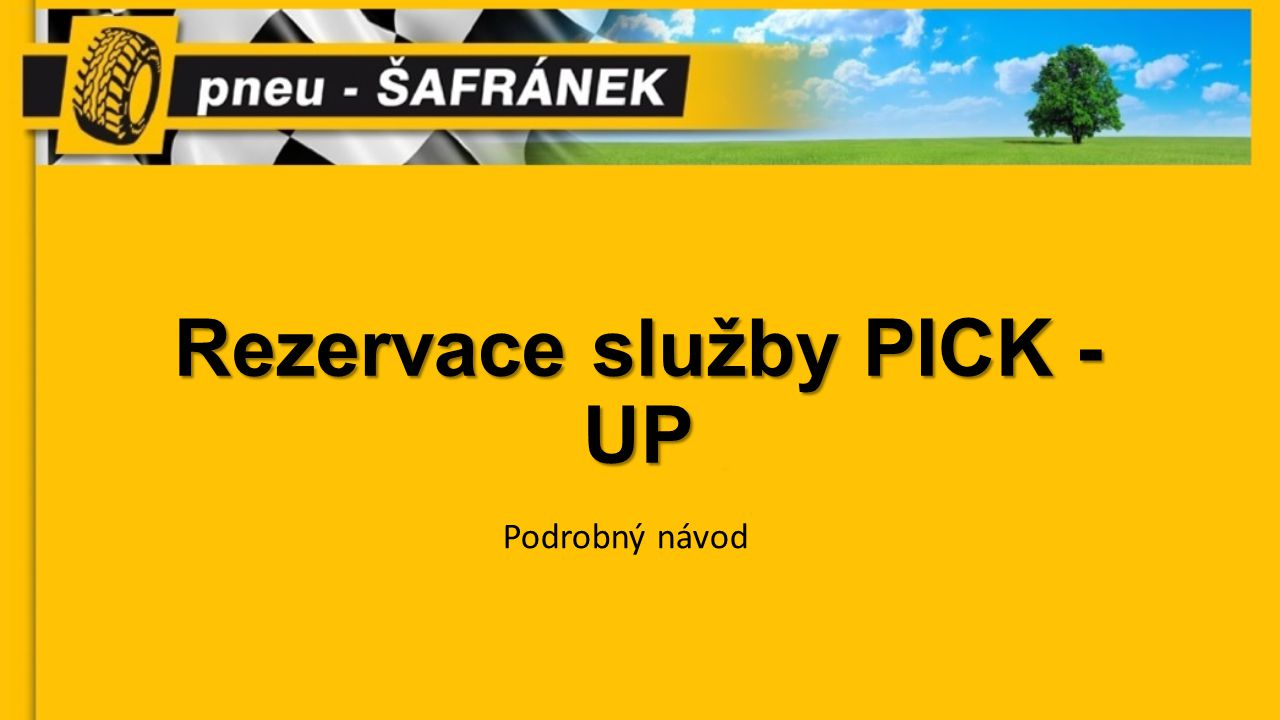 Otevřete Váš internetový prohlížeč a do adresy webové stránky napištewww.pneusafranek.cz/flotila Vyplňte Vaše přihlašovací údaje