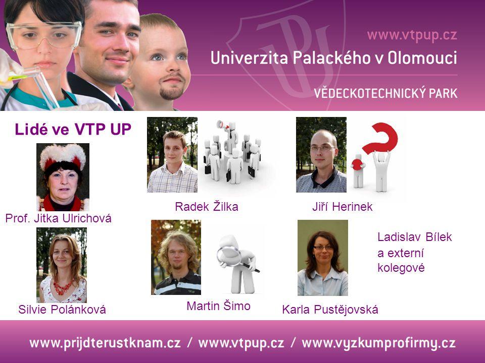 Lidé ve VTP UP Prof.