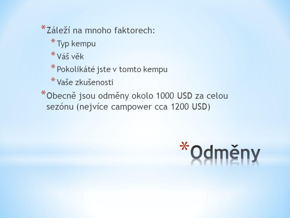 * Registrujte se na našich stránkách * Koordinátor projektu (Andrea Hrušková) vás kontaktuje.