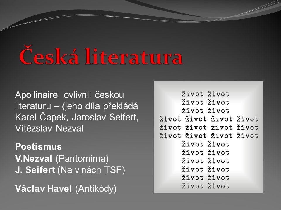 Poetismus V.Nezval (Pantomima) J.