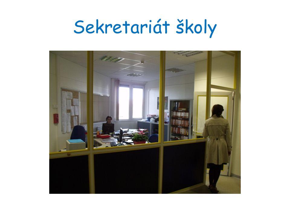 Sekretariát školy