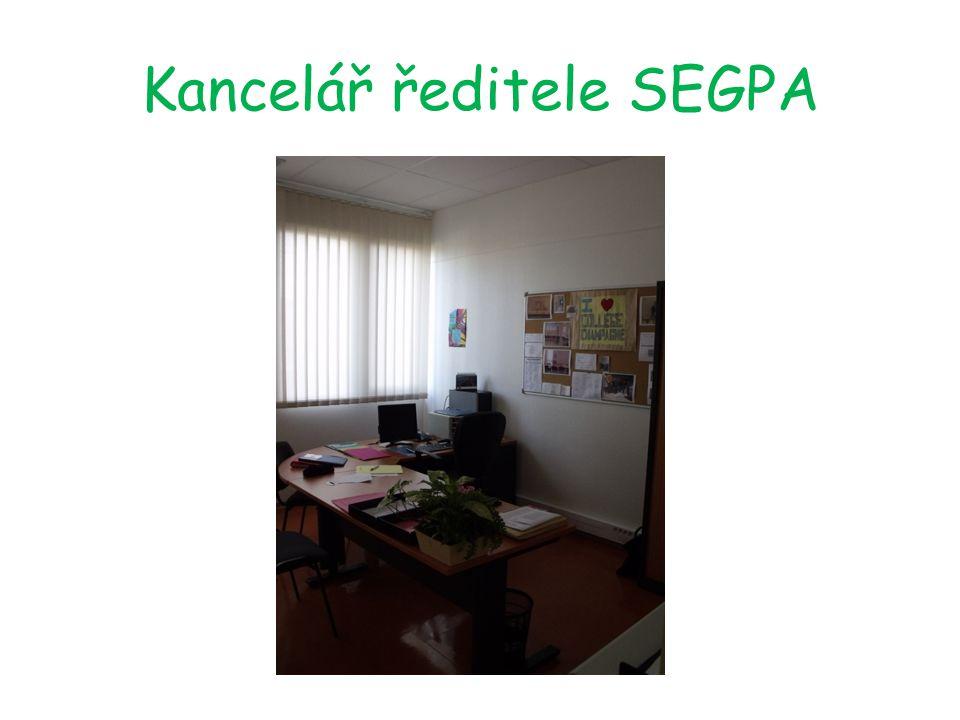 Oddíl SEGPA Ve škole se nacházejí speciální budovy pro studenty z SEGPA: kuchyň s vlastní restaurací, zahradnický skleník a malířská dílna…