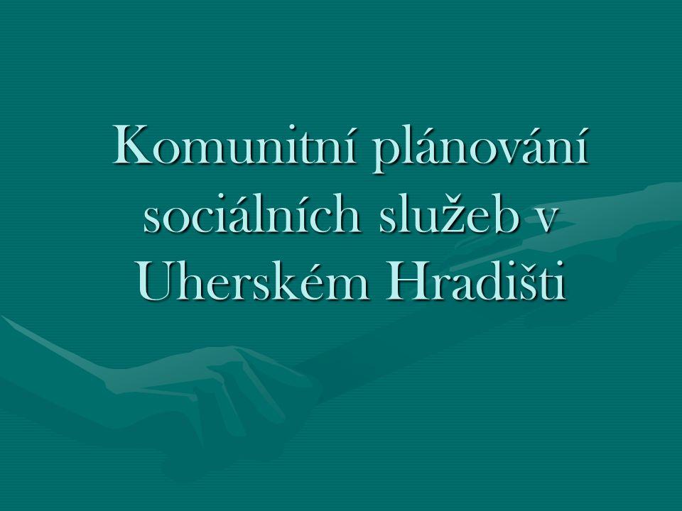 Komunitní plánování sociálních slu ž eb v Uherském Hradišti