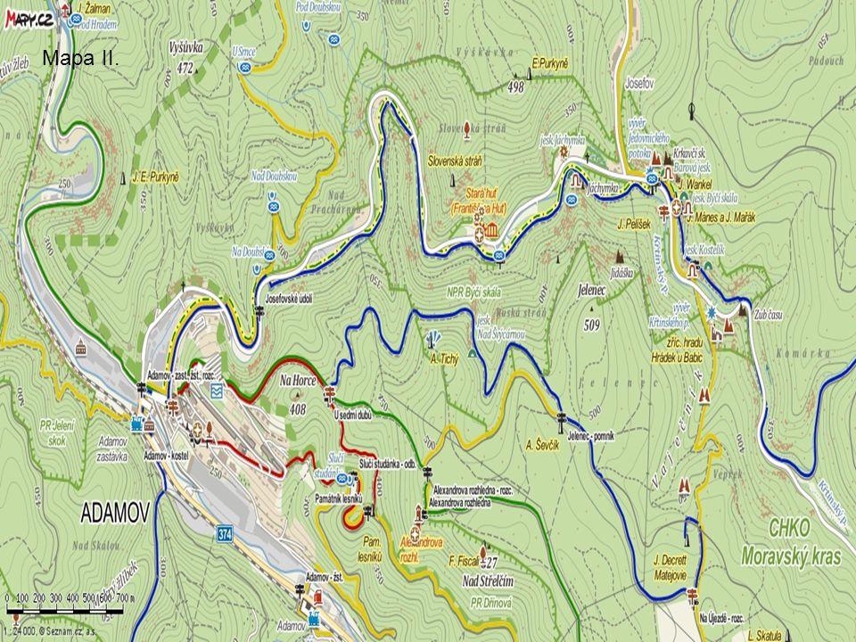 Mapa II.