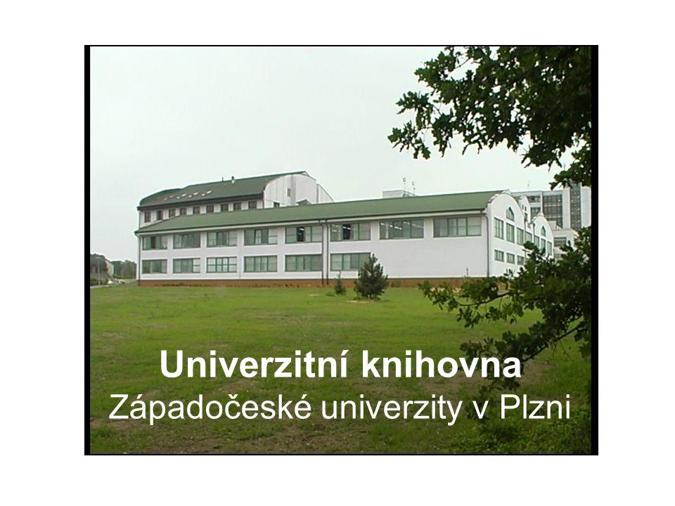 Univerzitní knihovna Západočeské univerzity v Plzni