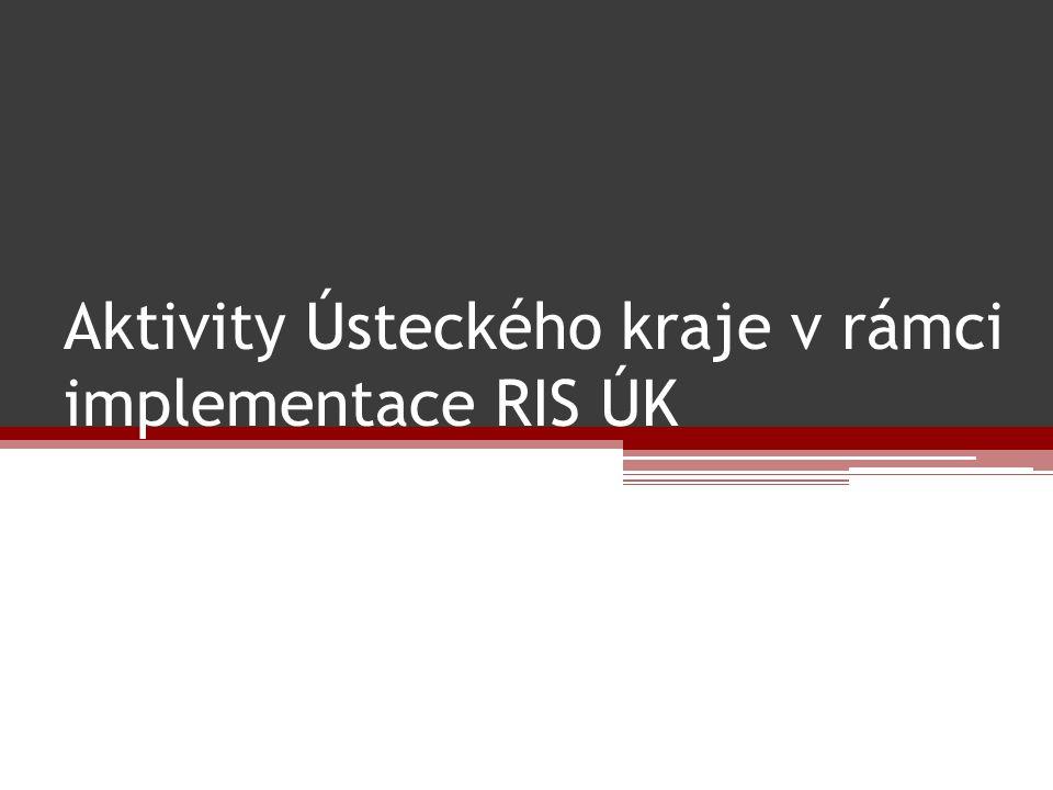 Aktivity Ústeckého kraje v rámci implementace RIS ÚK