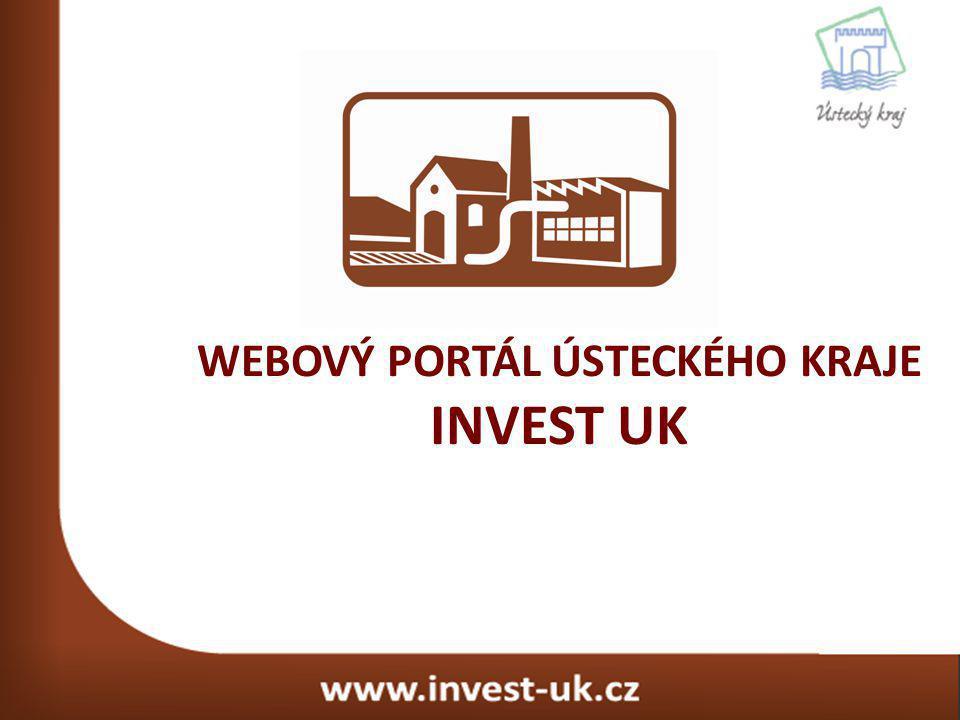 Specializovaný webový portál Ústeckého kraje sloužící k prezentaci volných průmyslových ploch, hal a brownfieldů pro potenciální investory nejen z České republiky, ale také ze zahraničí