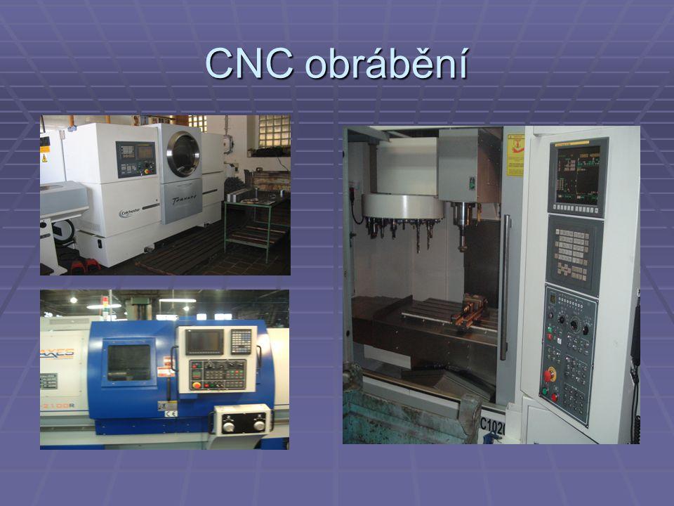 CNC obrábění