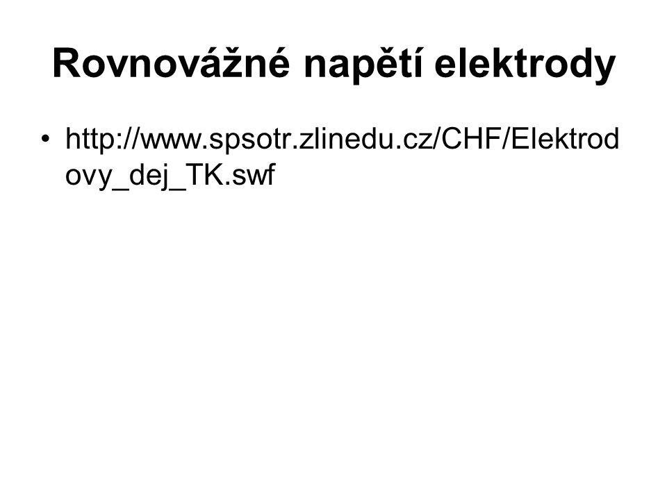 Rovnovážné napětí elektrody http://www.spsotr.zlinedu.cz/CHF/Elektrod ovy_dej_TK.swf