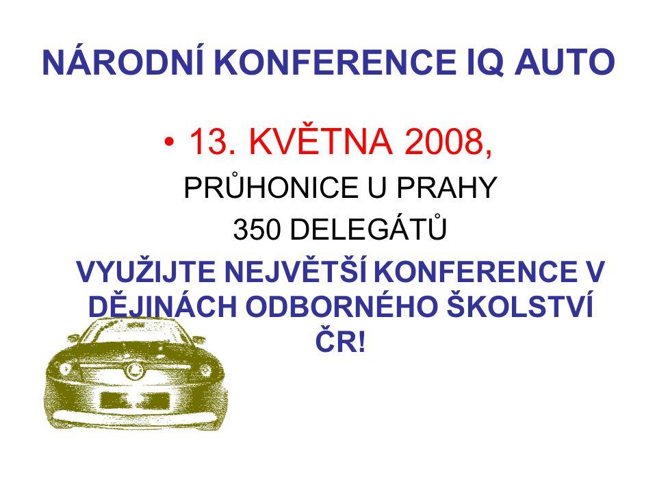 NÁRODNÍ KONFERENCE IQ AUTO 13.