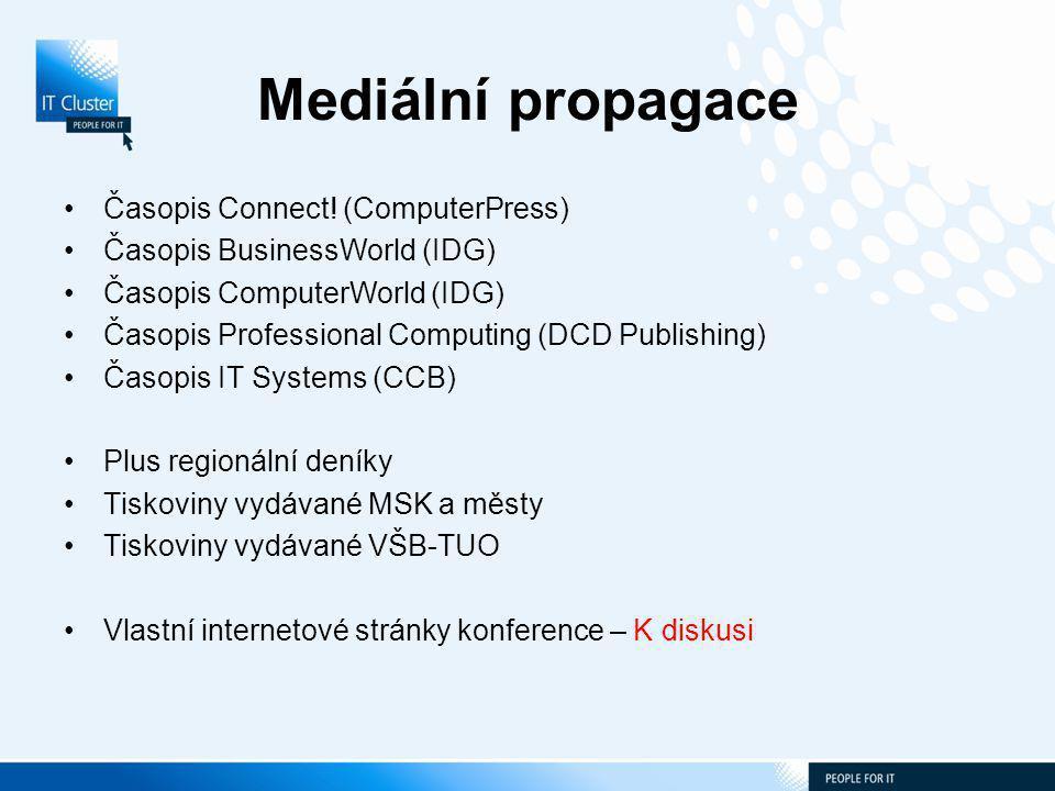 Mediální propagace Časopis Connect.