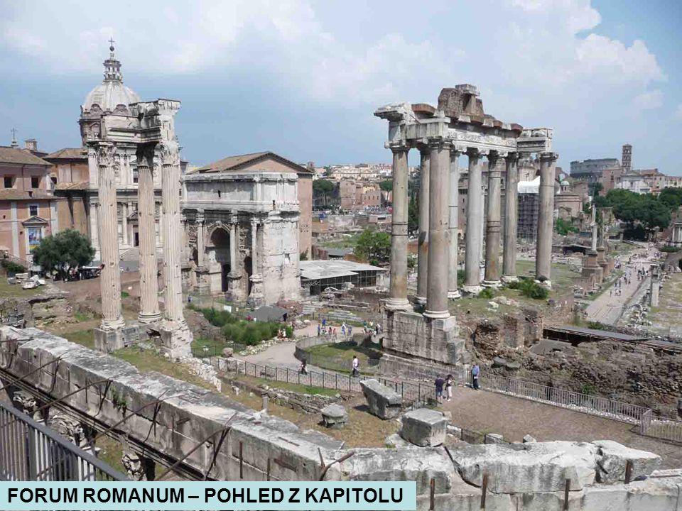 KAPITOL – ŘÍMSKÁ VLČICE U PALAZZO SENATORIO