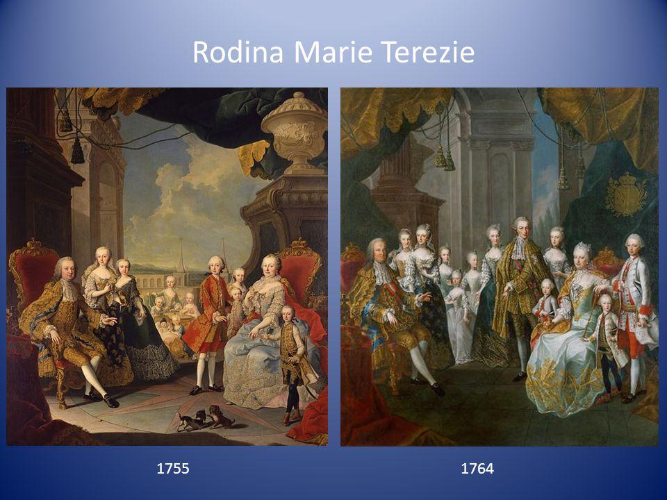 Rodina Marie Terezie 17551764