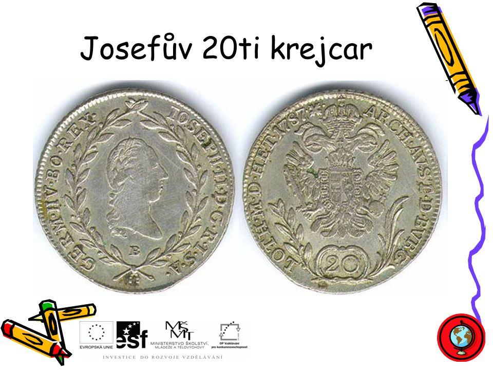Josefův 20ti krejcar