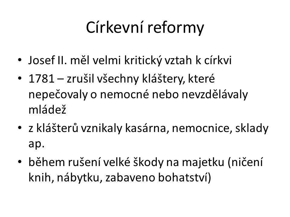 Církevní reformy Josef II.
