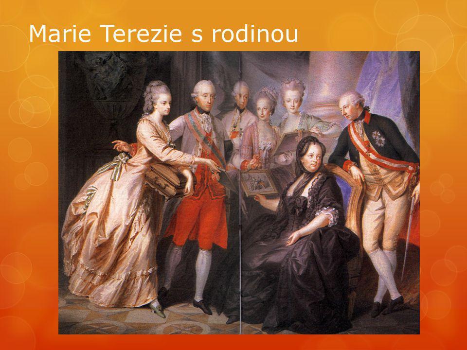 ZAJÍMAVOST Život Marie Terezie V roce 1736, ve svých devatenácti letech, se Marie Terezie vdává za korunního prince lotrinského vévodství, Františka I.