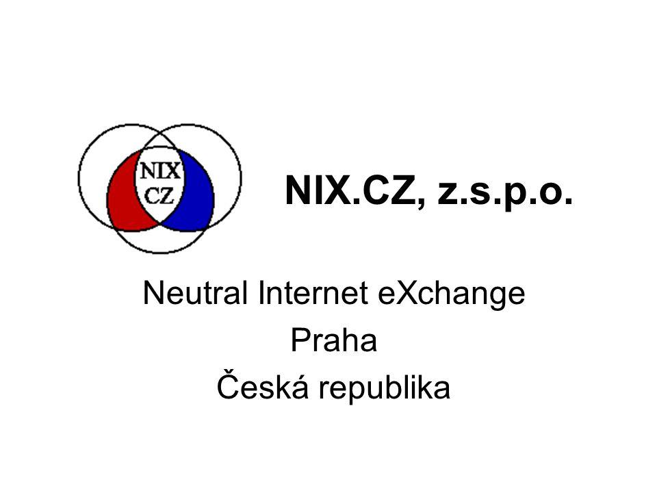 NIX.CZ, z.s.p.o. Neutral Internet eXchange Praha Česká republika