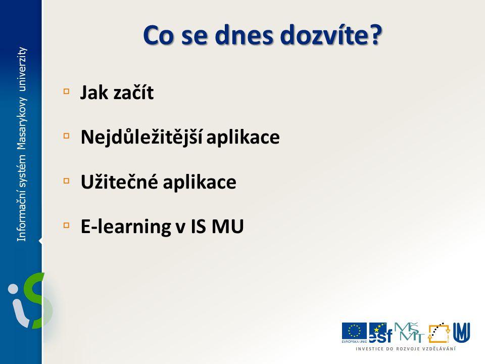 ▫ Kontrola průchodu studiem IS MU > Osobní administrativa > Student  Kontrola průchodu studiem ▫ Co jsou to šablony.