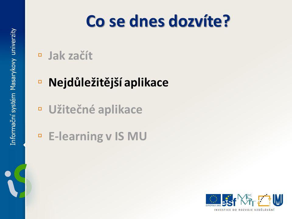 E-learning v IS MU ▫ Co to je? ▫ S čím se můžete v IS MU setkat?