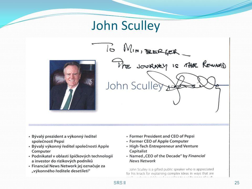 John Sculley SRS II25