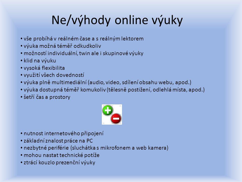 Jak do virtuální učebny.Desktopová verze vs.
