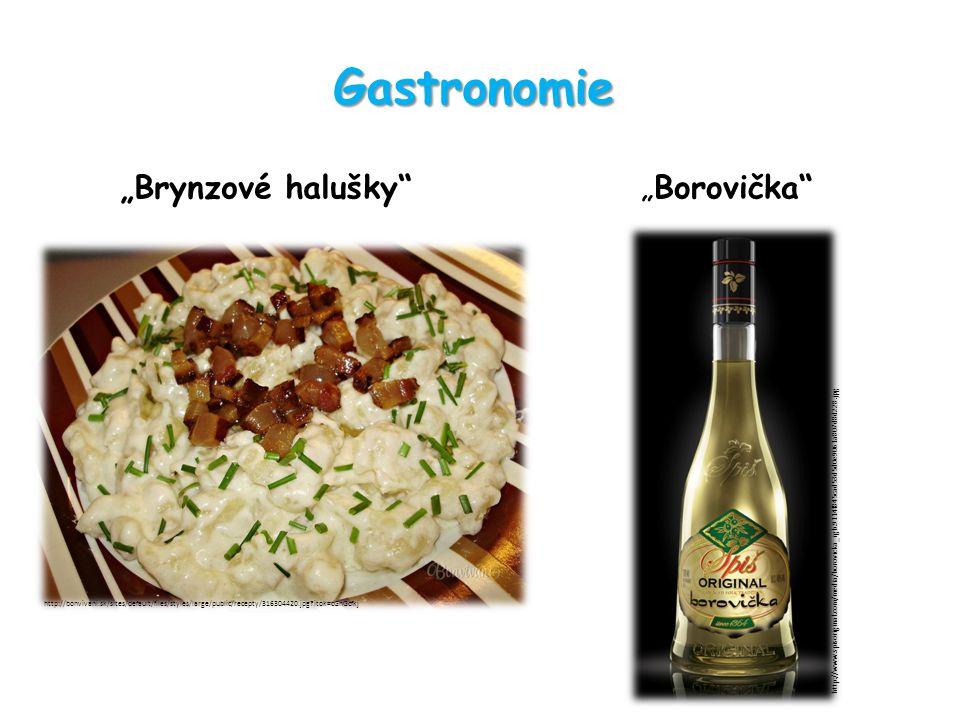 "Gastronomie ""Brynzové halušky ""Borovička http://bonvivani.sk/sites/default/files/styles/large/public/recepty/316304420.jpg itok=cGnGcfkj http://www.spisoriginal.com/media/borovicka_rgb.9114f845cad53d5d0e9061a807d8d228.jpg"