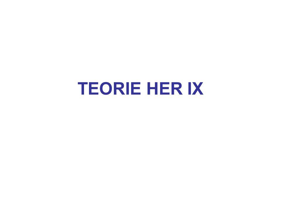 TEORIE HER IX