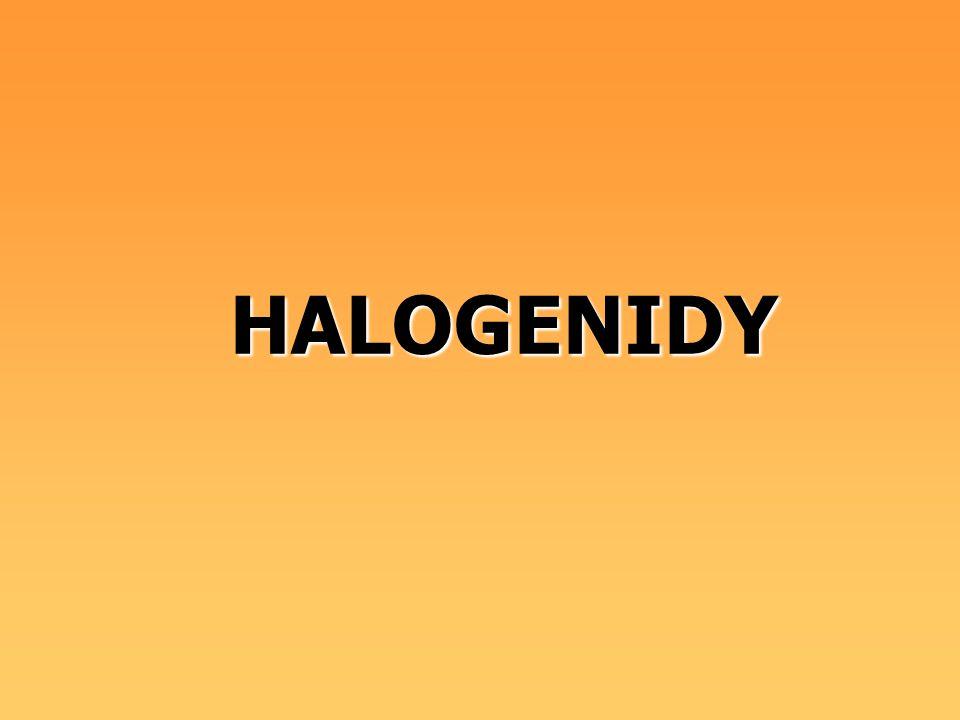 HALOGENIDY