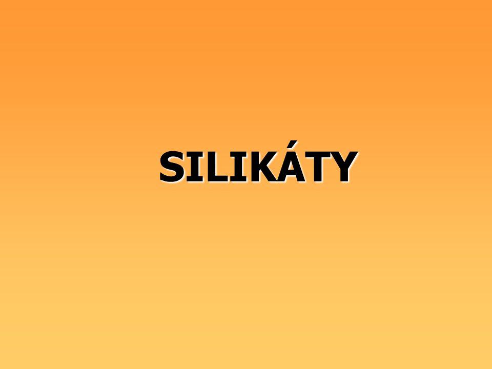 SILIKÁTY