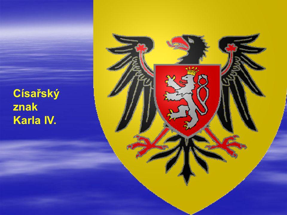 Císařský znak Karla IV.